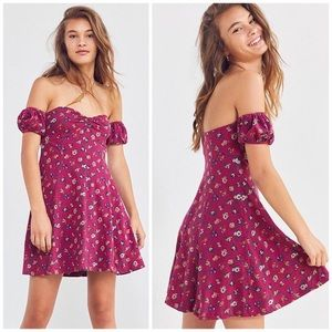 UO Urban Outfitters Melissa Off Shoulder Dress